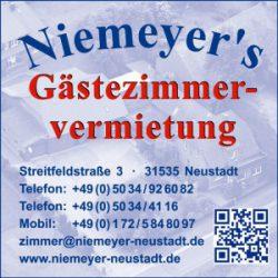 Homepage der Familie Niemeyer